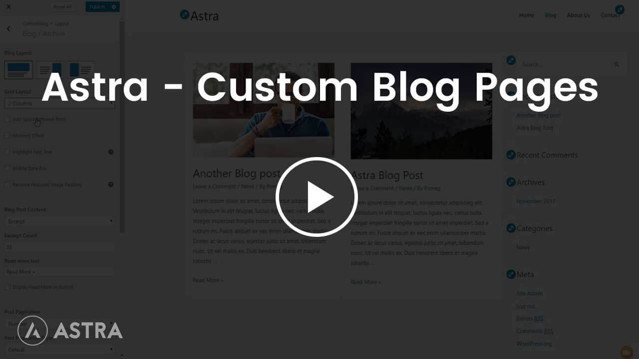 4.Astra---Custom-Blog-Pages