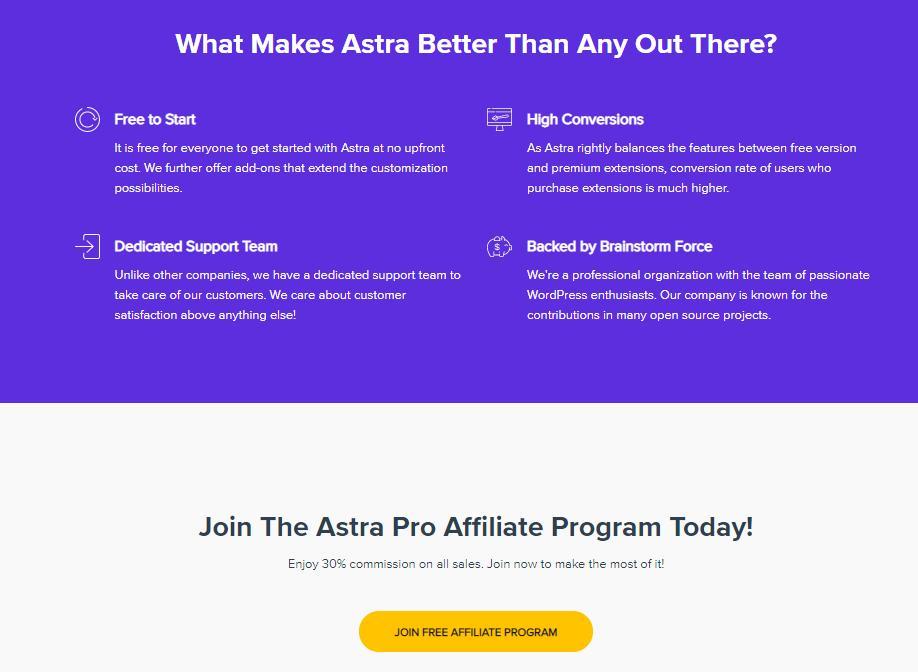 astra affiliate program