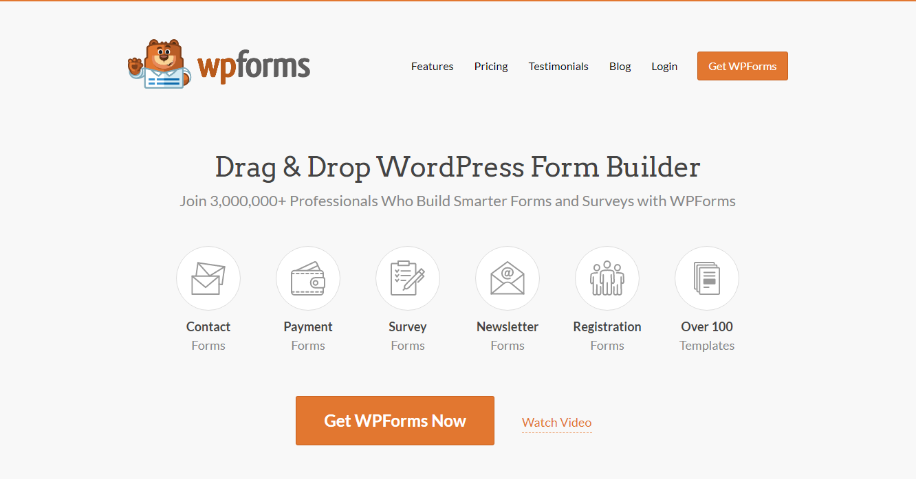 Best Contact Forms - WP Forms