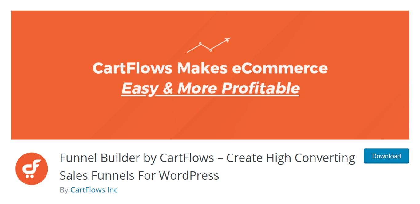 Funnel Builder by CartFlows.