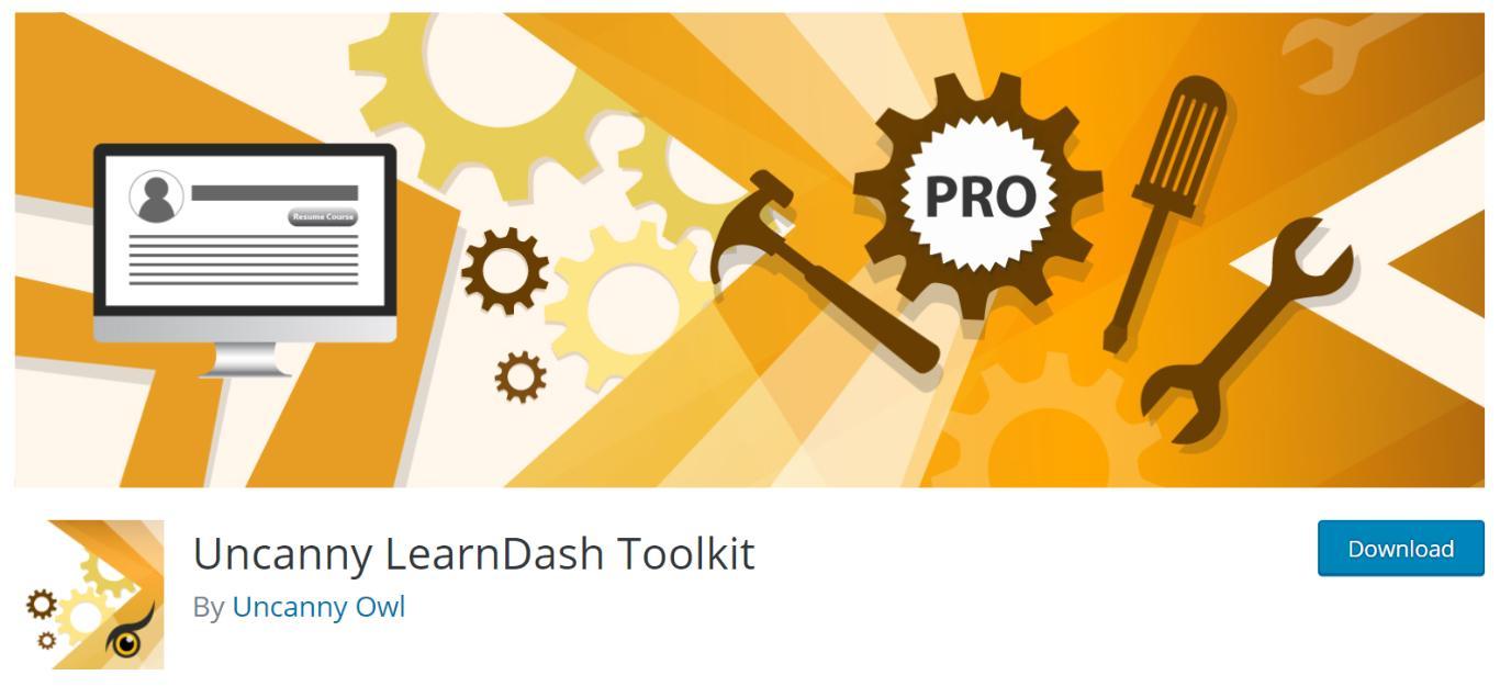 Uncanny LearnDash Toolkit.