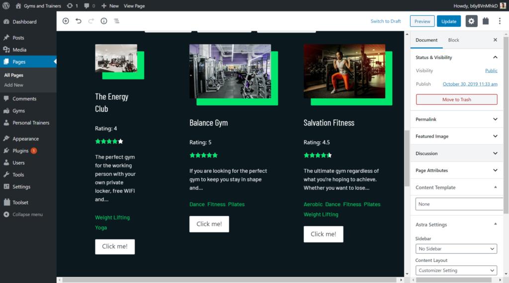 adding view loop on custom search bar