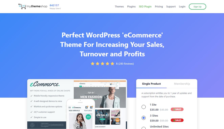 Best WooCommerce Themes - eCommerce