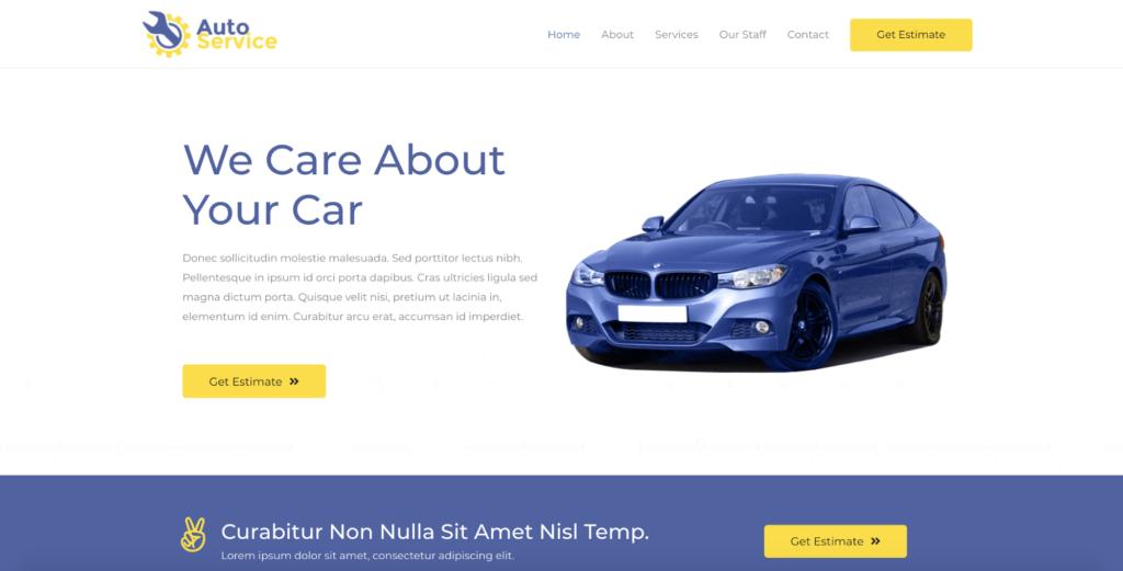 car repair astra starter site
