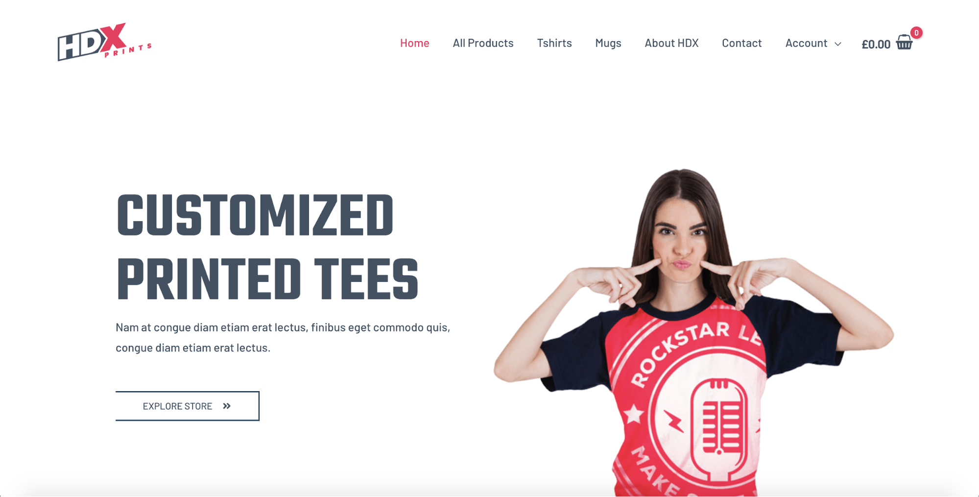 custom printing pro astra starter site