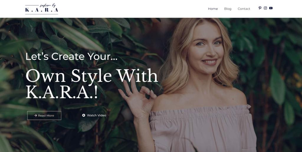 fashion lifestyle blog astra starter site