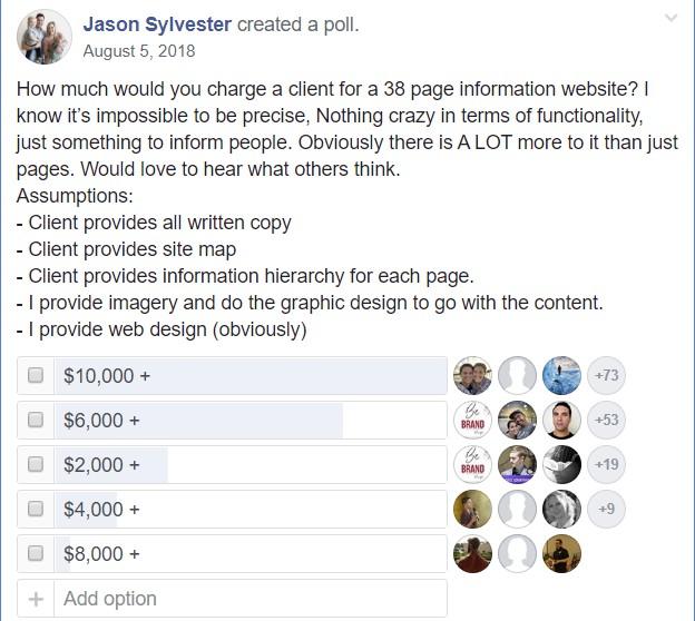 freelance developer site build poll 2