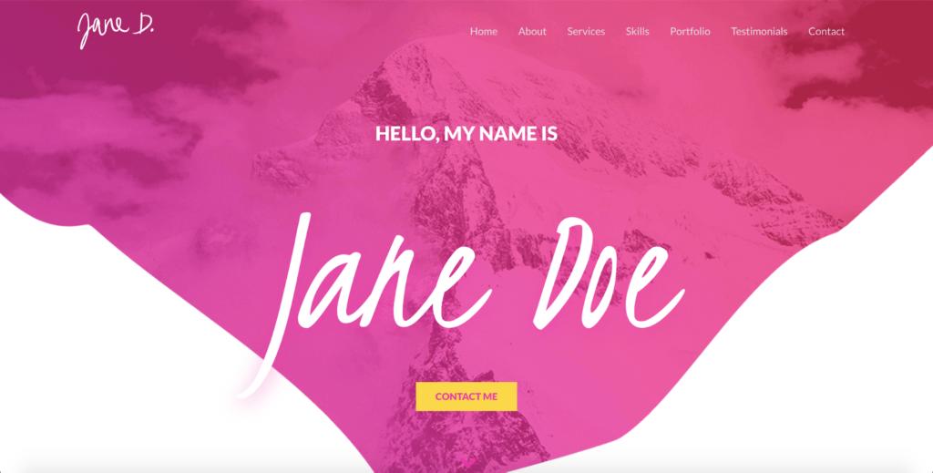 freelancer astra starter site