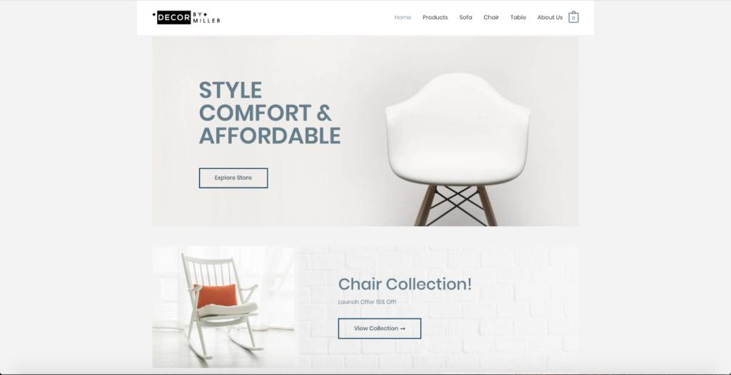 furniture store astra starter site
