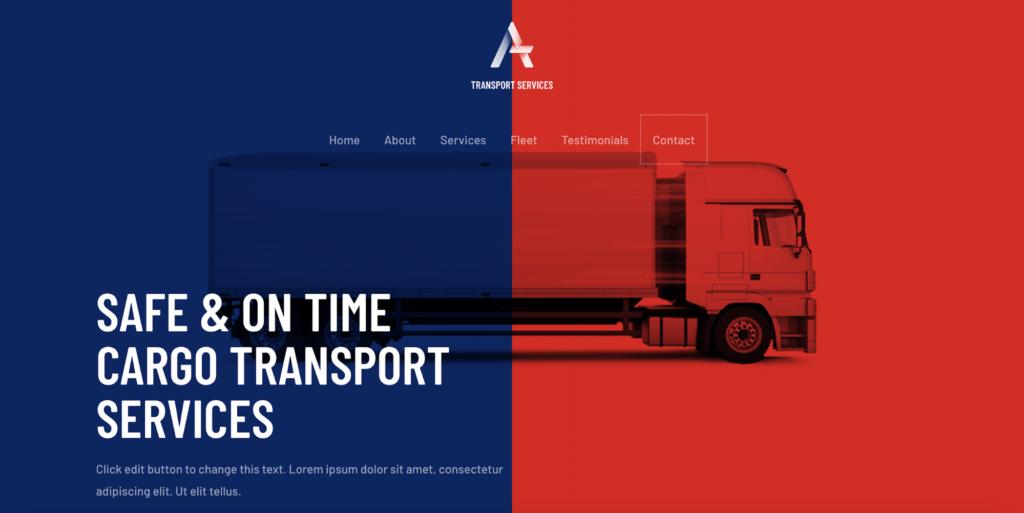 transport services starter templates