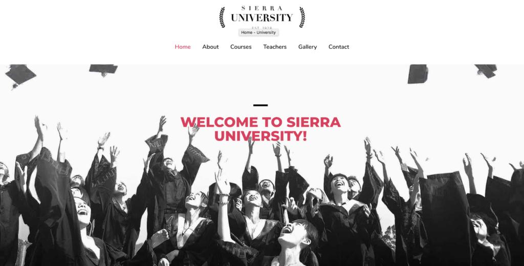 university astra starter site