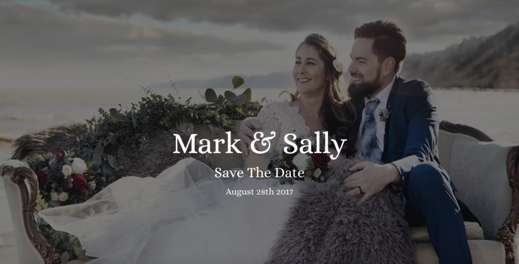 wedding astra starter site