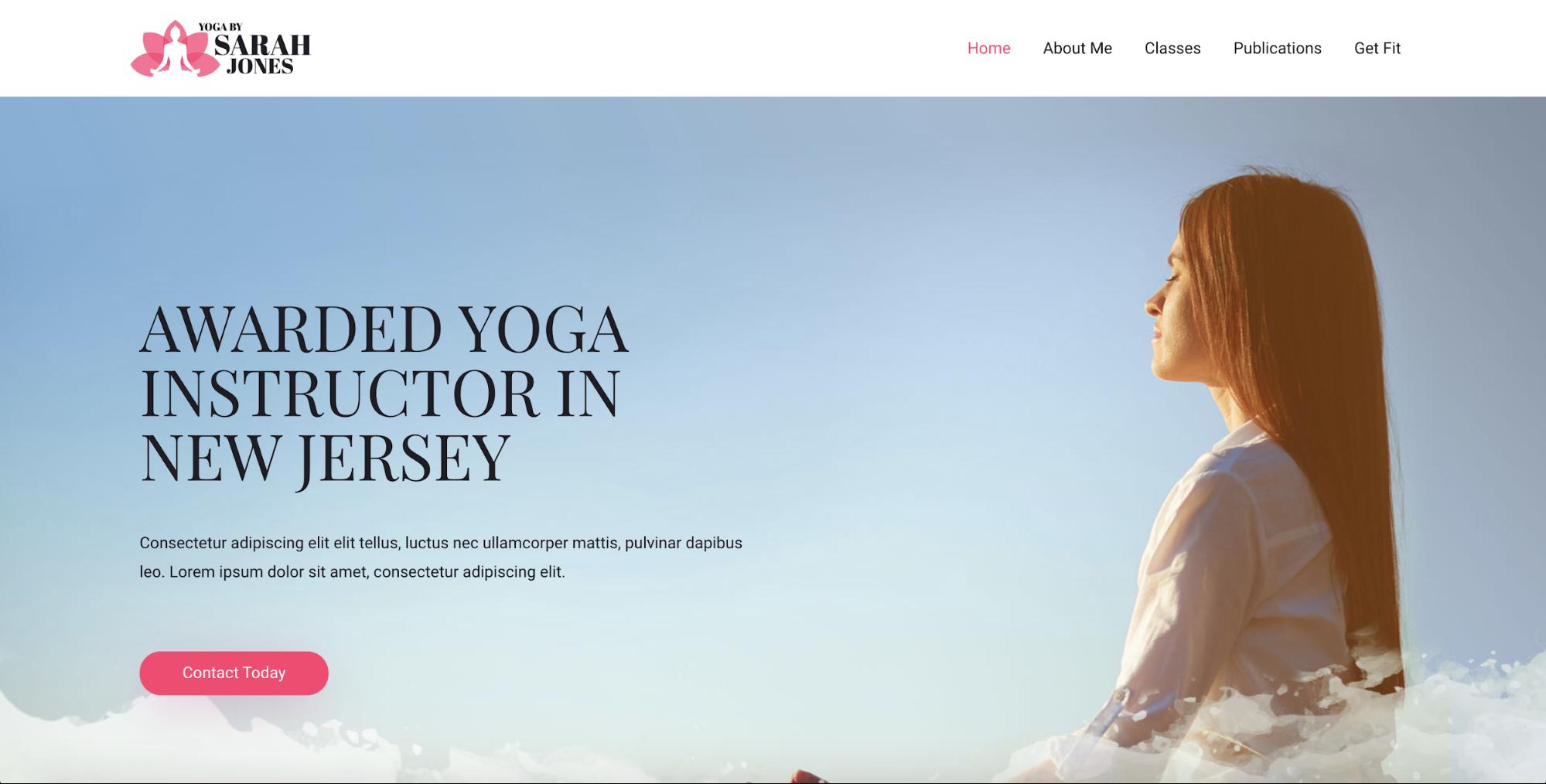 yoga instructor astra starter site