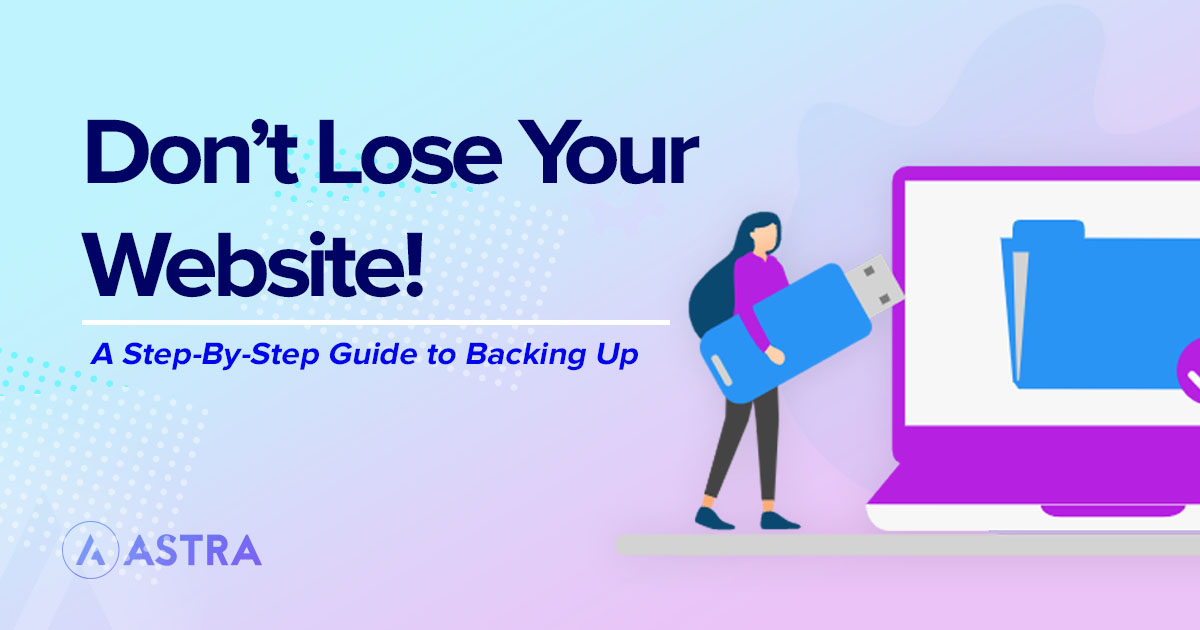 Backup your site - featured image