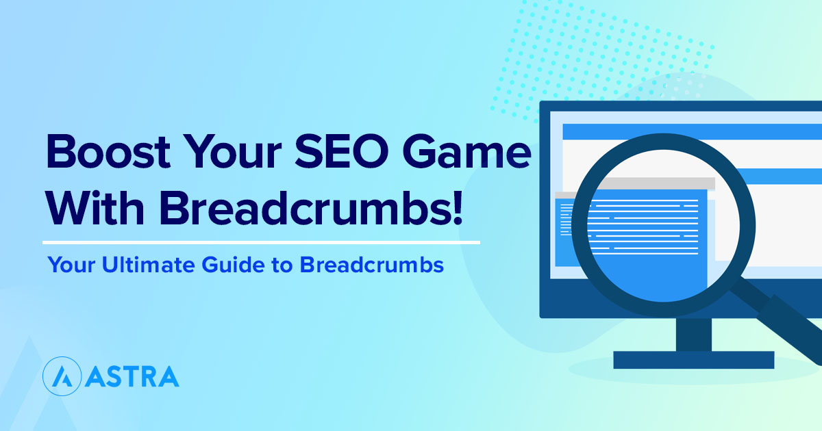 Adding breadcrumbs to WP featured image